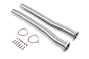 Audi Exhaust Midpipes - Unitronic UH034EXA