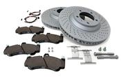 Porsche Brake Kit - Zimmermann/TRW 997BRKT7