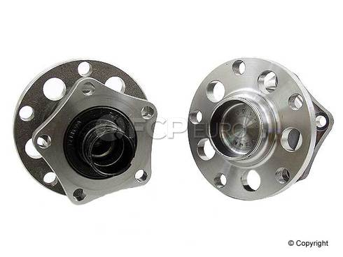 Audi VW Wheel Hub Assembly Rear (A6 Passat) - FAG (OEM) 8E0501611J