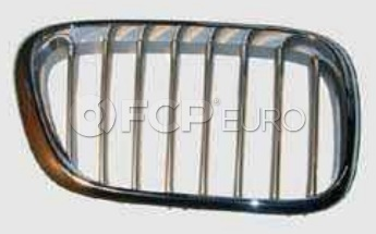 BMW Kidney Grille Right Titanium (X5) - Genuine BMW 51138250052