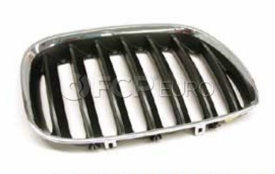 BMW Kidney Grille Right (X5) - Genuine BMW 51137113734