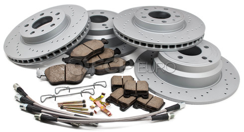 "Volvo Performance Brake Kit 11"" - Zimmerman KIT-850ULTKIT"