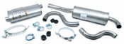 Volvo Exhaust System Muffler Kit (740) - B234EXH