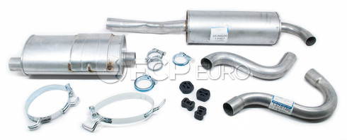 Volvo Exhaust System Muffler Kit (740 Turbo Sedan) Starla
