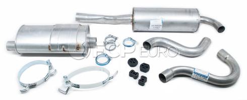 Volvo Exhaust System Muffler Kit (740 Turbo Sedan) Starla
