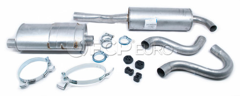 Volvo Exhaust System Muffler Kit (740 760 Turbo Wagon) Starla