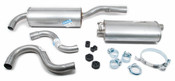 Volvo Exhaust System Muffler Kit (740 8 Valve) Starla 271366A