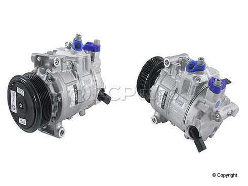 Audi A/C Compressor (A4 A4 Quattro) - Denso (OEM) 8E0260805BJ