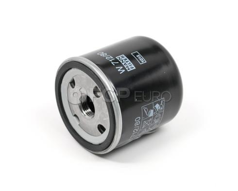 Saab Engine Oil Filter (95 96 99 Sonett 900 9000 9-5 9-3) - Mann W712/80