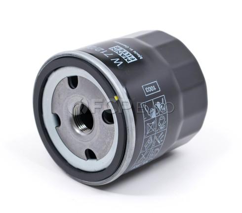 Saab Oil Filter (900 9000 V6 Engines) - Mann W712/22