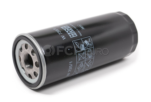 Audi Engine Oil Filter (V8 Quattro) - Mann W735/1