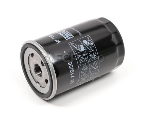 Jaguar Oil Filter (S-Type X-Type) - Mann W719/36