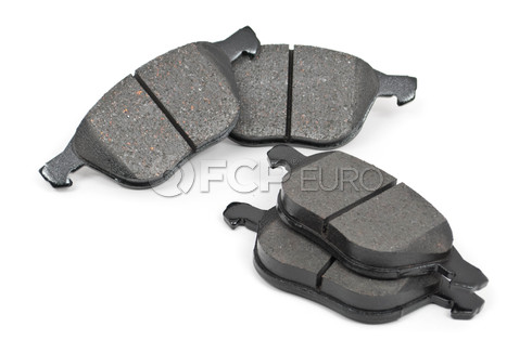 "Volvo Brake Pad Set 11.81"" (C30 S40 V50 C70) - Akebono 30793618"