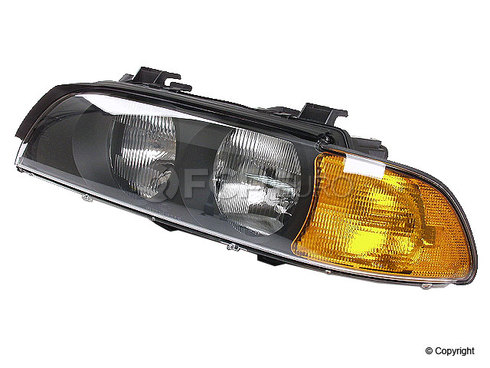 BMW Halogen Headlight Assembly Left - Genuine BMW 63128385091