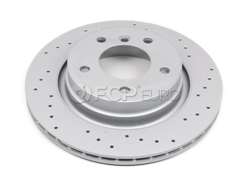 BMW Drilled Brake Disc - Zimmermann Sport 34216855154