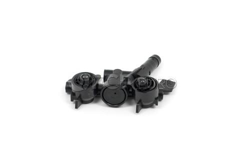 BMW Headlight Washer Nozzle Left (E46) - Genuine BMW 61674290867
