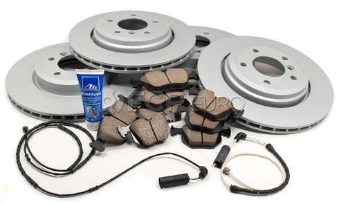 BMW Brake Kit - Zimmermann/Akebono 330BK4