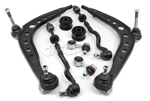 BMW 8-Piece Control Arm Kit - Meyle E367PIECEPOLY-MY