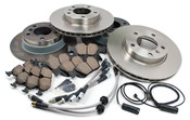 BMW Brake Kit w/Stainless Lines - Brembo/Akebono E36BK3