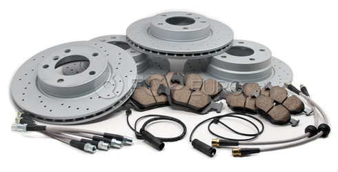 Brake Brake Kit (E36) - Akebono/Zimmermann E36BK1