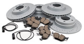 BMW Performance Brake Kit (E36) - Akebono/Zimmermann Drilled E36BK2