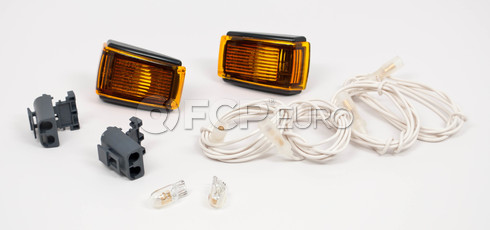Volvo Side Marker Light Adapter Kit (Amber) - 9133609KIT
