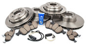 BMW Brake Kit - Brembo/Akebono 34116757747KTFR1