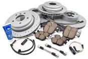 BMW Performance Brake Kit w/Lines (E39 540i) - Zimmermann/Akebono 34116757747KTFR3