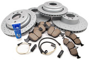 BMW Brake Kit - Akebono/Zimmermann 34116757747KTFR
