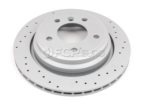 BMW Brake Disc Cross Drilled - Zimmerman Sport 34216767060