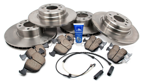 BMW Brake Kit (740i 740iL E38) - Akebono/Brembo E38BK4