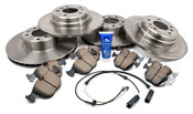 BMW Brake Kit - Akebono/Brembo E38BK4