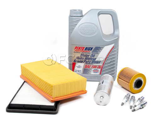 BMW Tune Up and Filters Kit with Oil (E36) - E36TUNEKIT1-Oil