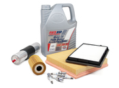 BMW Tune Up and Filters Kit with Oil (E36) - E36TUNEKIT4-Oil