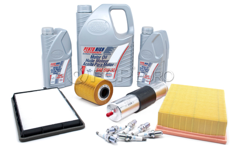 BMW Tune Up and Filters Kit with Oil (E36 325i 325is) - E36TUNEKIT7-Oil