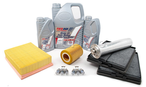 BMW Tune Up and Filters Kit with Oil (E39 525i 530i) - E39TUNEKIT1-Oil