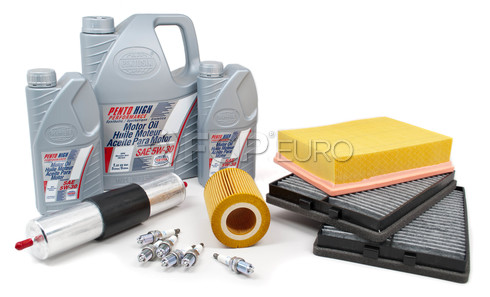 BMW Tune Up and Filters Kit with Oil (E39 528i) - E39TUNEKIT3-Oil