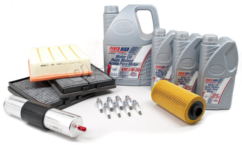 BMW Tune Up and Filters Kit with Oil (E39 540i) - E39TUNEKIT5-Oil