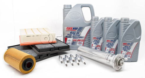 BMW Comprehensive Maintenance Kit with Oil (E39 540i) - E39TUNEKIT6-Oil