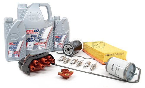 BMW Tune Up and Filters Kit with Oil (E34 525i) - E34TUNEKIT1-Oil