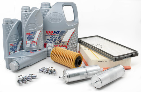 BMW Tune Up and Filters Kit with Oil (E34 530i 540i) - E34TUNEKIT3-Oil