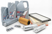 BMW Tune Up and Filters Kit with Oil - E34TUNEKIT3-Oil