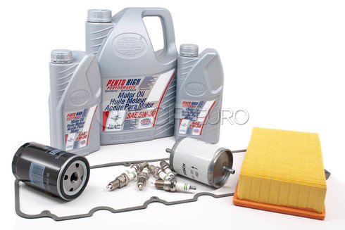 BMW Tune Up and Filters Kit with Oil (E28 528e) - E28TUNEKIT3-Oil