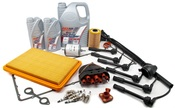 BMW Complete Tune Up and Filters Kit with Oil (E28 M5) - E28TUNEKIT7-Full