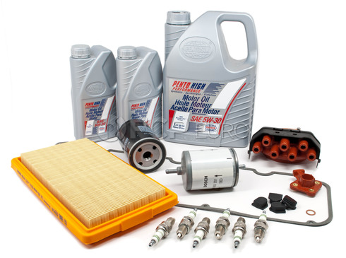 BMW Tune Up and Filters Kit with Oil (E30 325e) - E30TUNEKIT3-Oil