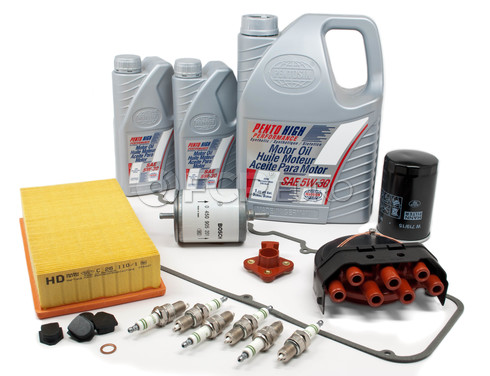 BMW Tune Up and Filters Kit with Oil (E30 325e) - E30TUNEKIT4-Oil