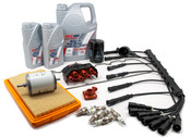 BMW Complete Tune Up and Filters Kit with Oil (E28 528e) - E28TUNEKIT2-Full