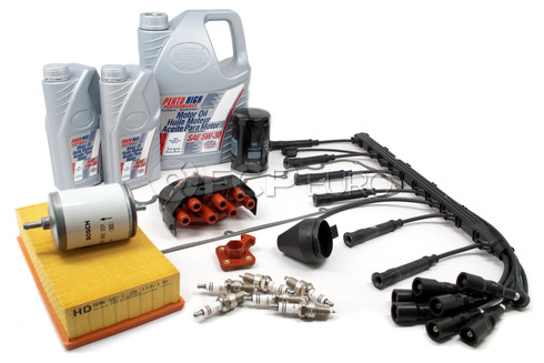 BMW Complete Tune Up and Filters Kit with Oil (E28 528e) - E28TUNEKIT4-Full