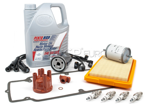 BMW Complete Tune Up and Filters Kit with Oil (E30 318i) - E30TUNEKIT1-Full