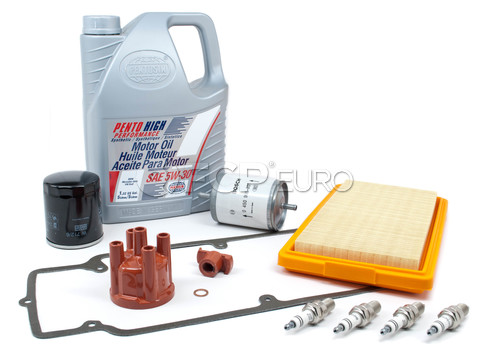 BMW Tune Up and Filters Kit with Oil (E30 318i) - E30TUNEKIT1-Oil